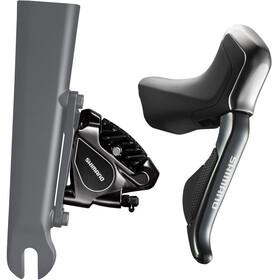 Shimano Road Di2 ST-R785/BR-RS805 Scheibenbremse Hinterrad 11-fach schwarz